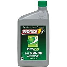 Mag 1 (62891-6PK) dexos1 5W-30 API:SN/GF-5 Motor Oil - 1 Quart Bottle, (Pack of 6)