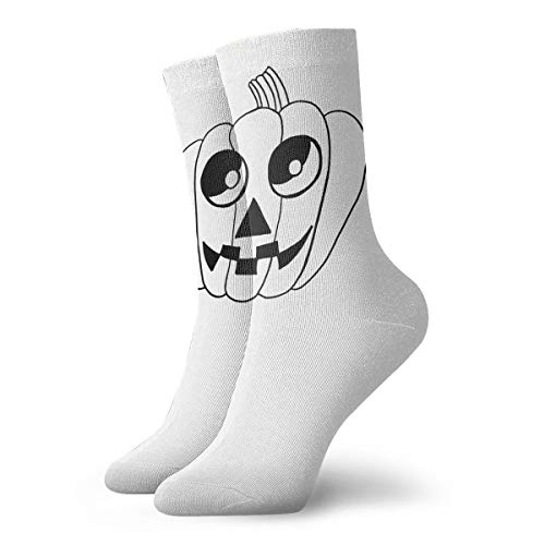 YUANSHAN Socks Cute Bat Halloween Drawings Women & Men Socks Soccer Sock Sport Tube Stockings Length 11.8Inch ()