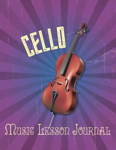 Cello Music Lesson Journal [Botterweg, Claudia] (Tapa Blanda)