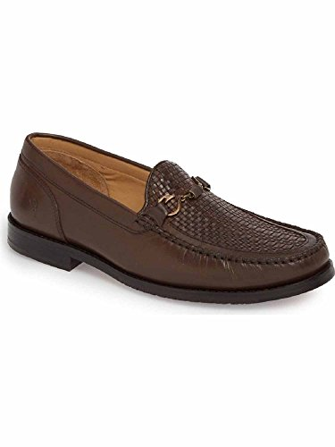 Tommy Bahama Mens Maya Bay Loafer Dark Brown Woven ahXkeEf
