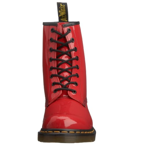 Martens Red 1460 Boots Patent Original Dr Women's vRwqxAHH7