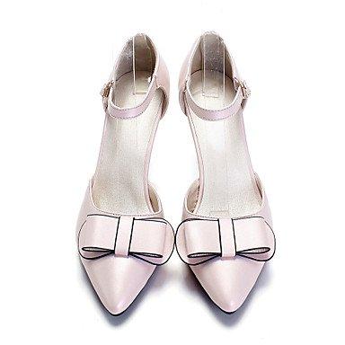Pumps chlos Heels vestito Blocco cirior Heels absaetzeges High donna in Donna zehe High pelle sene Rosa Scarpe da tacco B6BqPxa