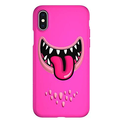 どうやってブランチスーツiPhone Xs iPhone X ケース おもしろ デザイン 3D 立体 TPU 耐衝撃 衝撃 吸収 ソフト カバー SwitchEasy Monsters [ Apple iPhoneXs iPhoneX アイフォンXs アイフォンX ] ピンク