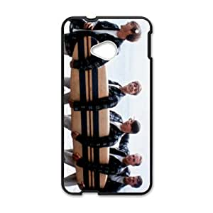 Happy Mature cooperative men Cell Phone Case for HTC One M7