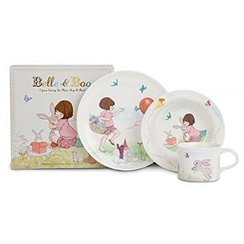 Belle u0026 Boo Vintage Style Melamine Dinner Set  sc 1 st  Amazon.com & Amazon.com : Belle u0026 Boo Vintage Style Melamine Dinner Set : Baby