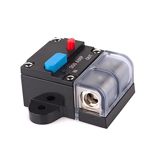 soyond 300A Circuit Breaker Trolling Motor Auto Car Marine Boat Bike Stereo Audio Inline Fuse Holders Inverter