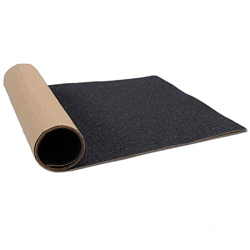 CLISPEED Skateboard Grip Tape Clear Scooter Griptape Deck Papel de Lija Longboard Sheet Sticker