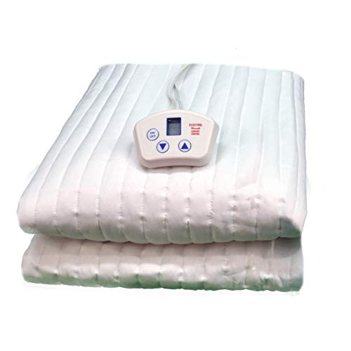 - Electrowarmth M30Fl Single Long Heated Mattress Pad, Fits Split Queen Mattress, 30-Inch by 80-Inch