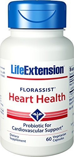 Heart Health Vegetarian Capsules (FLORASSIST Heart Health 60 vegetarian capsules-PACK-2)