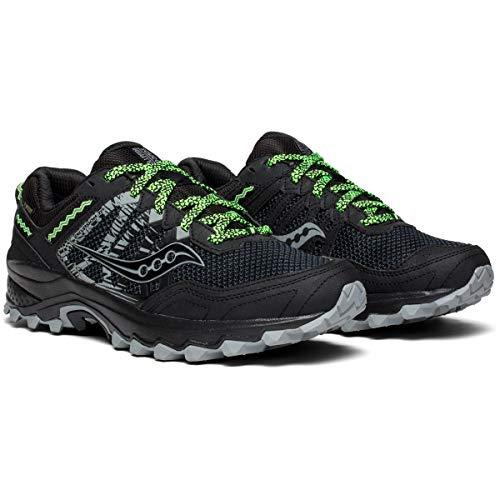 Noir noir Chaussures Saucony Hommes Tr12 Gtx Pour 001 Excursions D'entranement wfRwx0