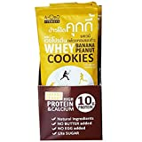 whey protein Cookies banana & peanut butter boost your energy up anytime and anywhere 480 g Packed in aluminum foil bag 12 bags/box