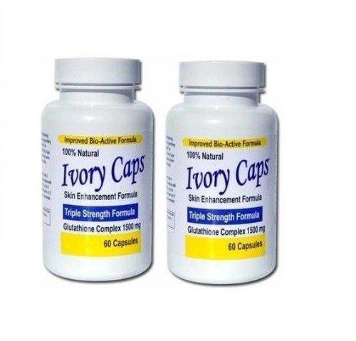 Ivory Caps Skin Lightening Whitening Support Pill by Ivot...