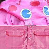 Children Raincoat - Hooded Waterproof Reusable Cute