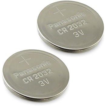 Amazon Com Panasonic Cr2032 Battery Lithium Cr 2032 3v