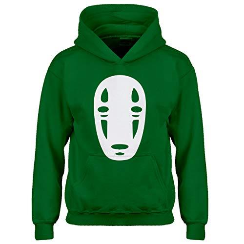 Indica Plateau Kids Hoodie No Face Large Kelly Green Hoodie -
