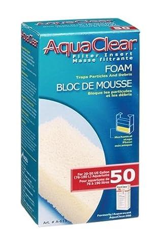 Hagen AquaClear 50 Filter Insert Foam Block BULK (A-613)