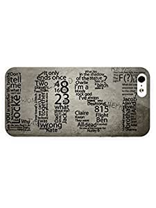 3d Full Wrap Case For Ipod Touch 4 Cover Tv Show - Lost