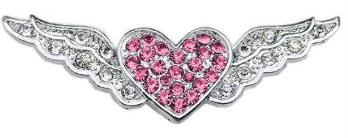 3/8'' Slider Aviator Charm Pink Heart 3/8'' Case Pack 24 3/8'' Slider Aviator... by DSD