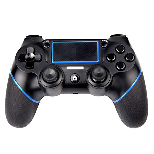 Kootop PS4 Controller Wireless Bluetooth Game Controller Dualshock Gamepad for PlayStation 4 -Black