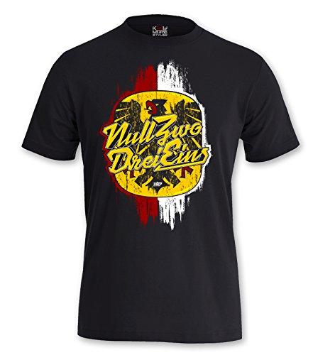 """T-Shirt Identität Streetwear """"0231 DORTMUND"""" Ruhrpott Derbysieg"""