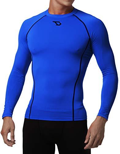 - Defender Men Compression T Shirt Under Gear Fits Cold Basketball BK_2XL