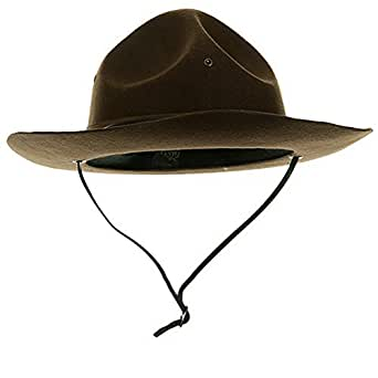 Adult Trooper Highway Patrol Canadian Mountie Uniform Costume Hat