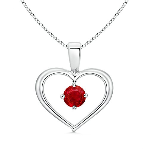 Solitaire-Natural-Ruby-Open-Heart-Pendant-Necklace