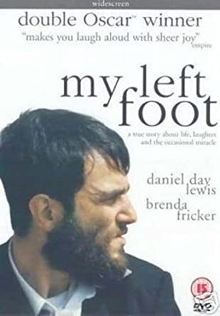 My Left Foot The Story Of Christy Brown By Daniel Day Lewis Amazon Co Uk Dvd Blu Ray