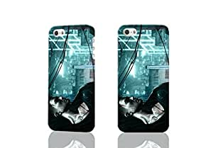 Sleeping Dogs Wei Shen 3D Rough New Design iphone 5/5s Case Skin, fashion design image custom iPhone5 5s, durable iphone 5 hard 3D case cover for iphone 5s Case
