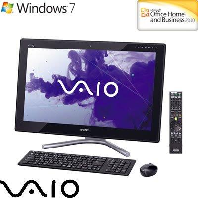 ソニー(VAIO) VAIO Lシリーズ (Win7HomePremium 64bit/Office2010) ブラック VPCL237FJ/BI   B005Q0TLY0