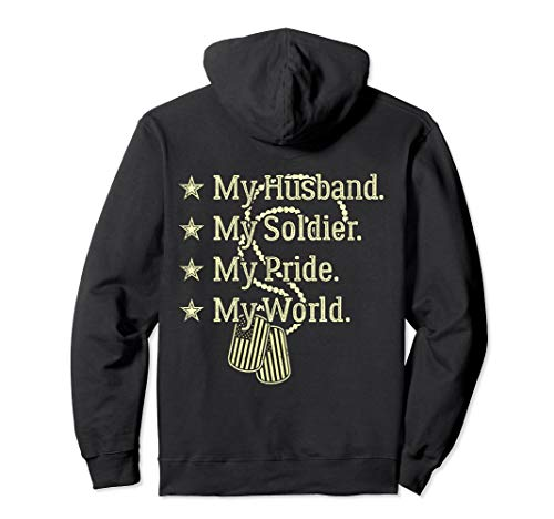 My Husband My Soldier My Pride My World Army Wife T-Shirt ()