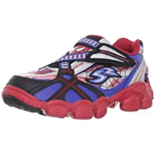 Stride Rite X-Celeracers Spiderman Youth Boys 2.5 Red Wide Sneakers Shoes