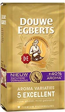 3 Packs Douwe Egberts Excellent Aroma Ground Coffee 8.8oz/250g