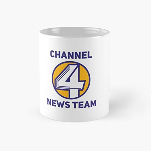 Channel 4 110z Mug, Funny Mugs, 11 Ounce