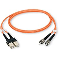 Black Box 1m (3.2ft) SCLC OM1 MM Fiber Patch Cable INDR Zip OFNR