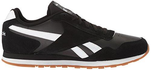 Reebok Heren Classic Harman Run Sneaker Zwart / Wit / Gum