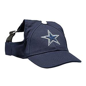 NFL Dallas Cowboys Pet Baseball Hat, Small