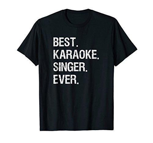 Karaoke T-shirt - Funny Best Karaoke Singer ()
