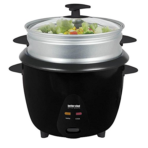 Better Chef Rice Cooker With Steamer 5Cup
