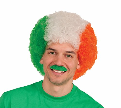 Forum Novelties Men's Novelty Irish Afro Wig, Multi, One (Irish Costumes For Men)