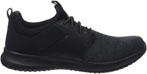Black Nero Sneaker Camben Uomo Delson Skechers Yzq7Xy