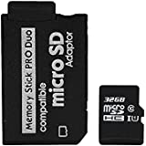32G High Speed Memory Stick Pro-HG Duo Class 10 32G Micro SD and Mark2 HX Adapror for PSP Accessories