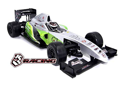 Integy RC Model Hop-ups KIT-FGX-EVO2018/GR 3Racing Sakura FGX2018 1/10 F-1 Formula 1 EP Car Kit ()
