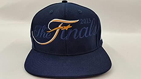 buy online 1730e 16bf4 Image Unavailable. Image not available for. Color  Cleveland Cavaliers  Authentic 2015 NBA Finals Adidas Snapback Navy