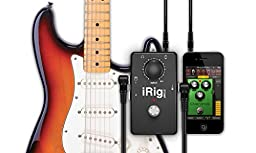 IK Multimedia iRig Stomp pedal-style guitar interface for iOS devices