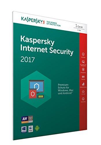 Kaspersky Internet Security 2017 1 Gerät - [Online Code] (Frustfreie Verpackung)