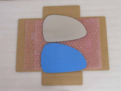 New Replacement Mirror Glass with FULL SIZE ADHESIVE for Porsche 911 Porsche Boxster Passenger Side View Right RH