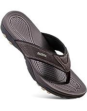 HAOLIRA Men's Surfing Flip-Flop Sandals,Mens Flip Flops Sport Beach,Men's Sandals Orthotic Arch Support Flip,Outdoor Holiday Summer Shower Shoes