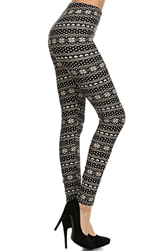 leggings-depot-womens-seasonal-quality-printed-leggings-for-fall-winter-batch1-make-a-wish