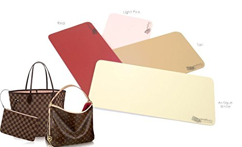 Wood Base Shapers for Purses and Tote Bags in Red Color, Handcrafted MDF Wood Custom Size Base Shapers ( Express Shipping )